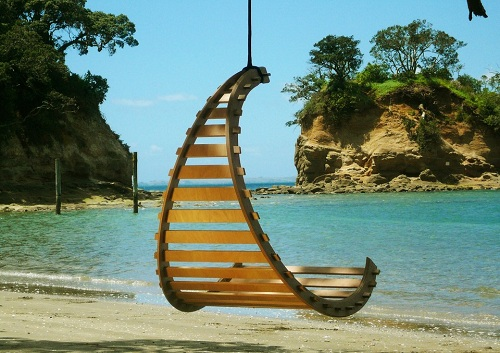 Creative Pattern Hanging Chair