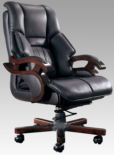 Cushioned Arm Computer Chair