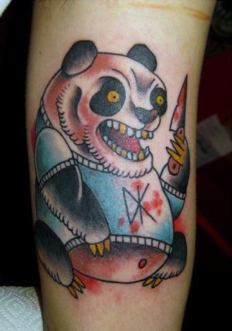 Dangerous Panda Tattoo