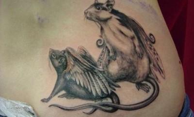 rat tattoo designs