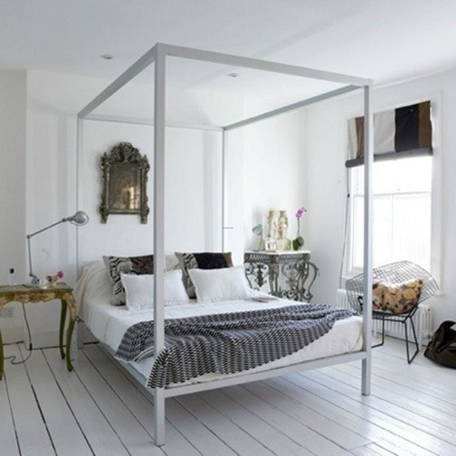 eclectic bedroom desgn
