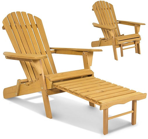 Extended Adirondack Chairs