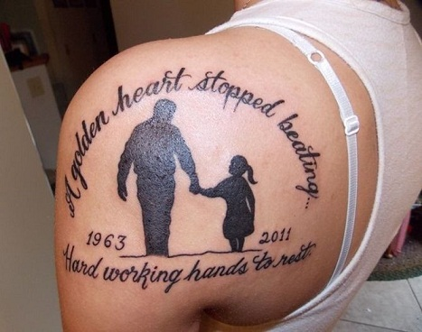 Top 9 unforgettable memorial tattoos styles at life for Memory tattoos pictures