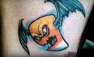 cute pumpkin tattoo designs