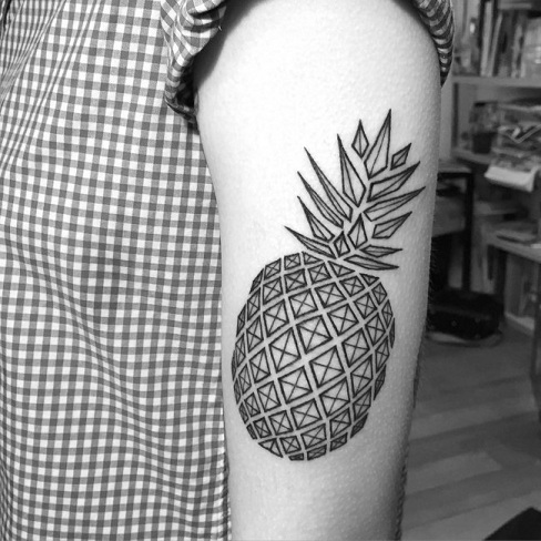 Fruity Geometrical Design