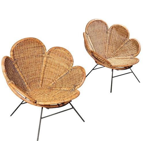 Garden Flower Chairs