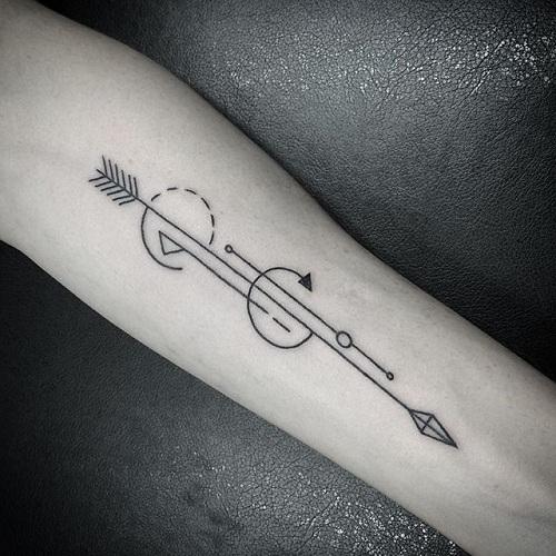 15 Simple Amp Splendid Geometric Tattoos Design Ideas