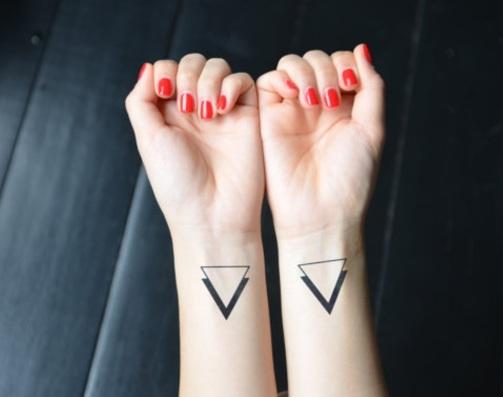 Geometric Shape Minimalist Tattoo Design - Minimalist Tattoos