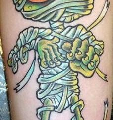 mummy tattoo designs