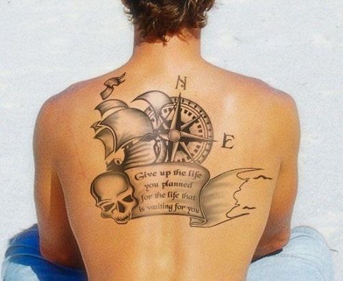 Impressive Navy Tattoo Design