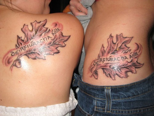 15 Heart Touching Mother Daughter Tattoos - Incredible Mother Daughter Tattoo Design