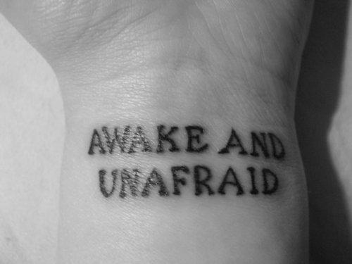 Inspirational Motivational Tattoo Design