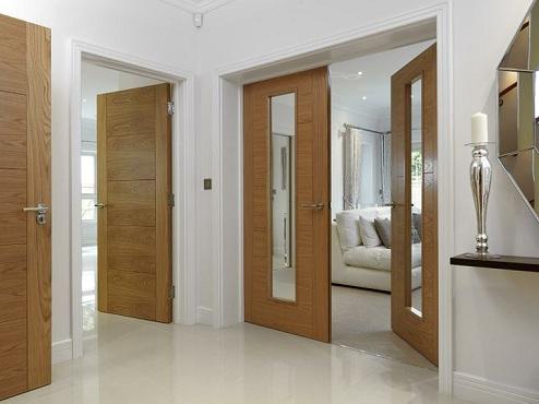 9 Best & Modern Hall Door Designs - Interior Doors with Different Designs