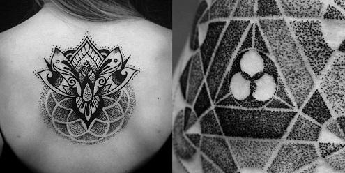 Intricate Dot Work Tattoo