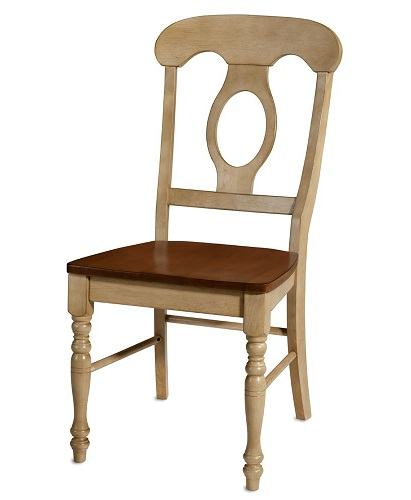 Keyhole Dining Table Chair
