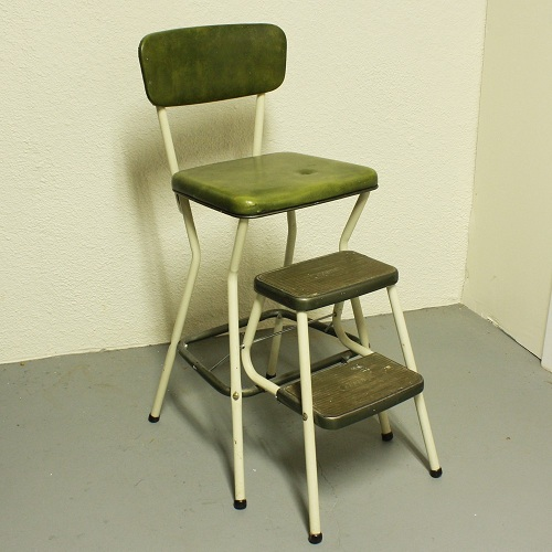 Kitchen Chair with Stool