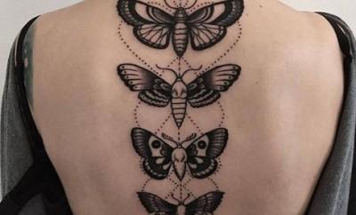 moth tattoo designs