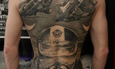racing tattoo designs