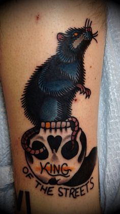 Marvellous Rat Tattoo Designs