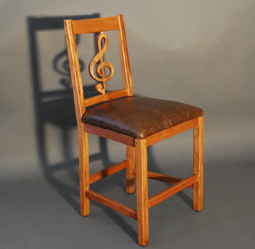 Music Chair in Wooden
