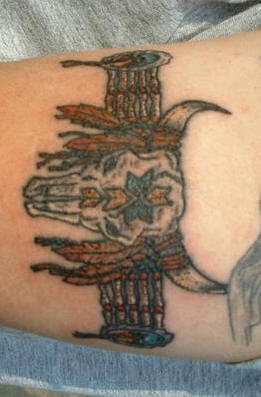Cute Native American Armband Tattoos Design