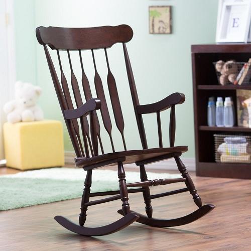 9 Best & Comfortable Nursing Chairs - Nursery Chair in Wood