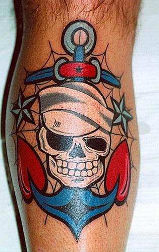 Old School Navy Tattoo Designs