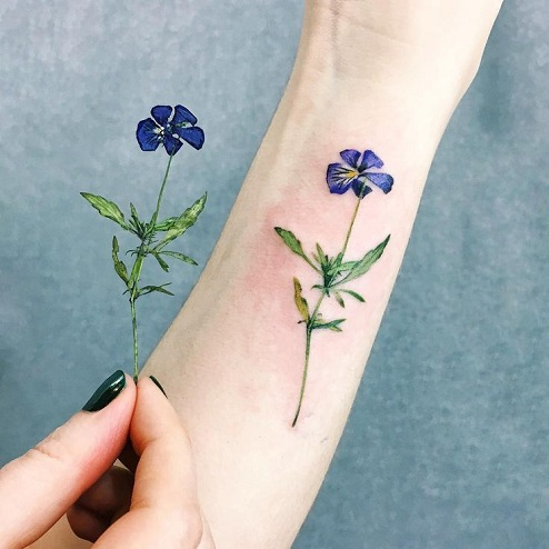 9 ravishing pansy tattoo designs with images styles at life