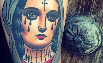 mary tattoos