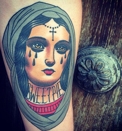 Personalize Mary Tattoos