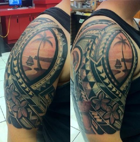 Plumeria Tattoo for Men's special