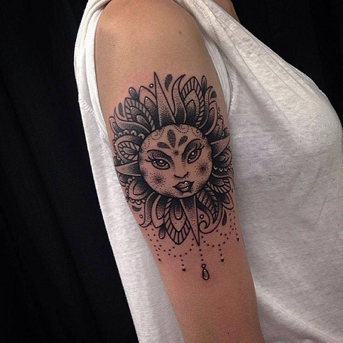 Powerful Nature Tattoo Design