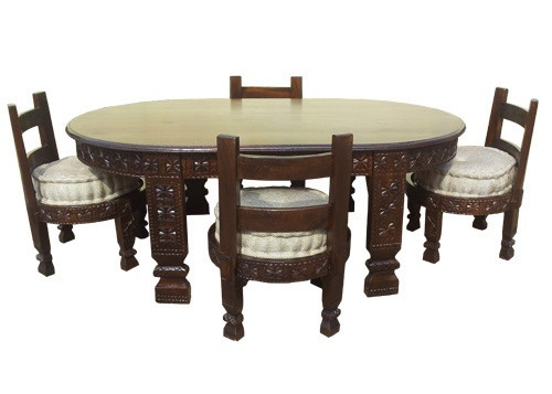 Rajasthani Chair Dining Table