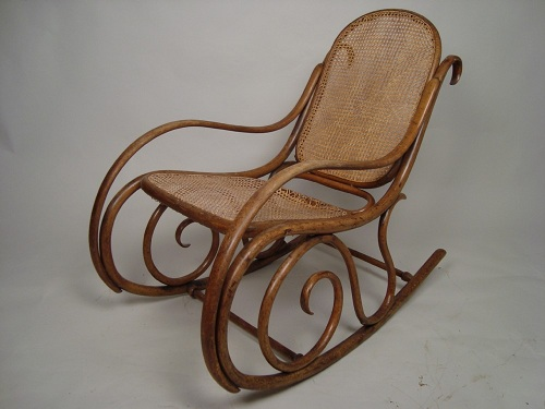 Rocking Cane Chair