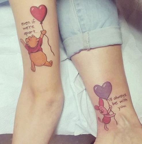 15 Heart Touching Mother Daughter Tattoos - Sacred Mother Daughter Tattoo Design