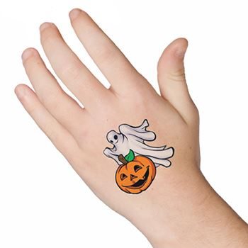 Scary Pumpkin Tattoo Design