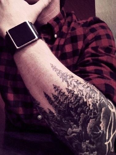 Sensational Nature Tattoo Design