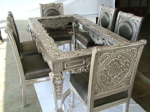 Silver Dining Table Chair