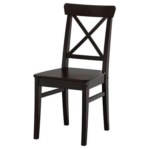 Slant Back Kitchen Chairs