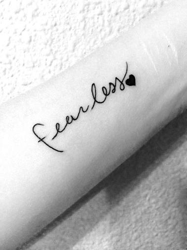 Small Tattoo Words: 15 Best Inspirational Tattoos Design Ideas