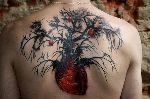 Spell Bound Nature Tattoo Design