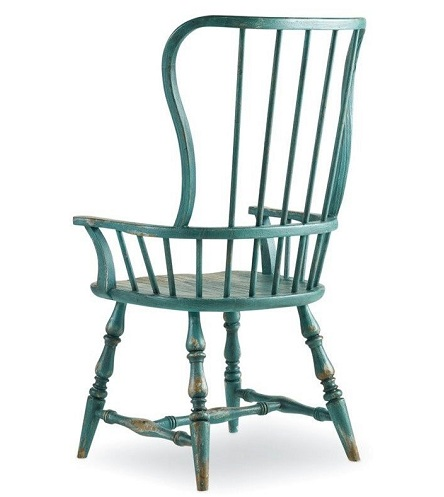 Spindle Chair with Arm Design