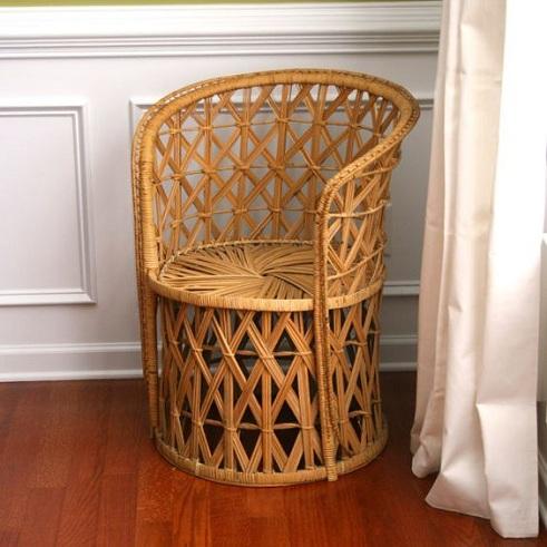 Spring Cane Chair