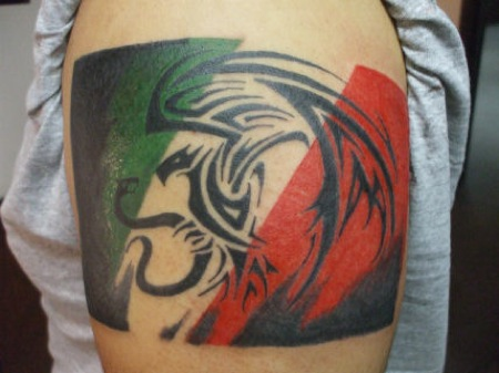 9 most beautiful breathtaking pride tattoo designs for Mexican pride tattoos