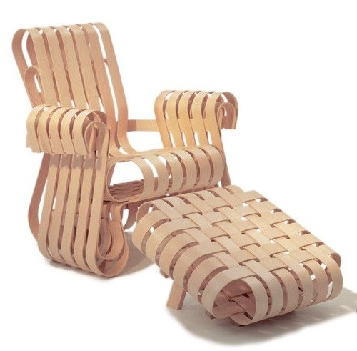 Unconventional Lounge Chair