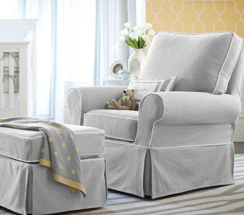 9 Best & Comfortable Nursing Chairs - White Nursery Chair