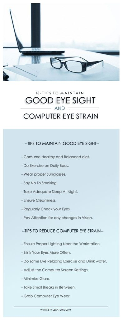 tips to maintain eye health