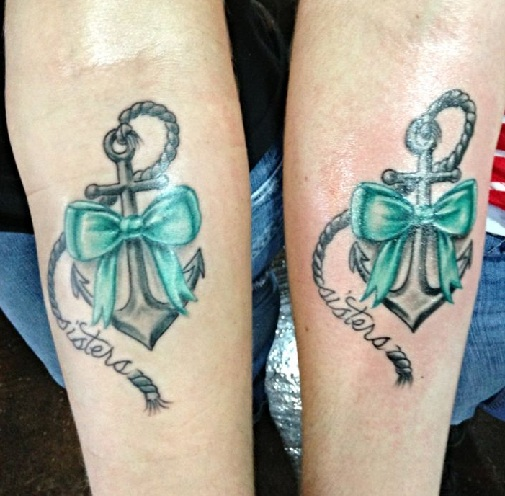 Anchor Sibling Tattoos