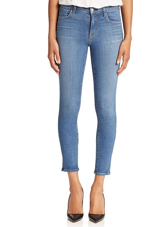 Ankle-Length High Rise Jeans