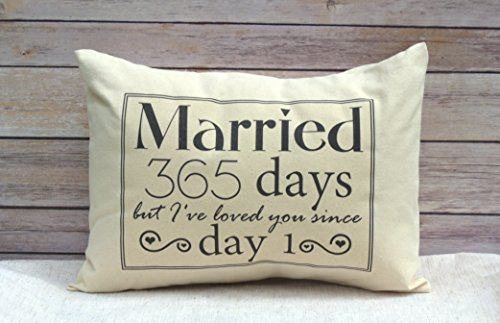 This Lovely Printed Pillow Is Just Right As A 1st Year Wedding Anniversary Gift You Can Get Customized And With The Words That Love